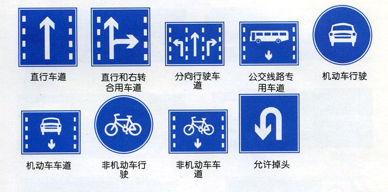道路标志大全及图解