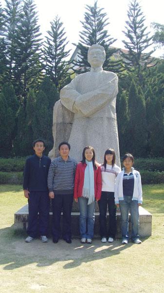 济南外国语学校,莱州一中,青岛二中,淄博一中等五所中学.