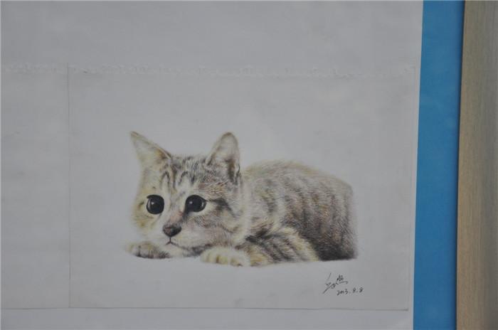 我校举办优秀绘画作品展