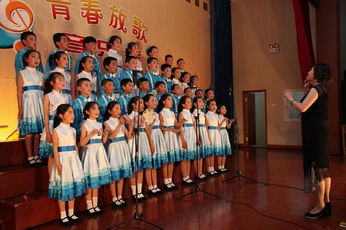 激荡青春韵 放歌中国梦