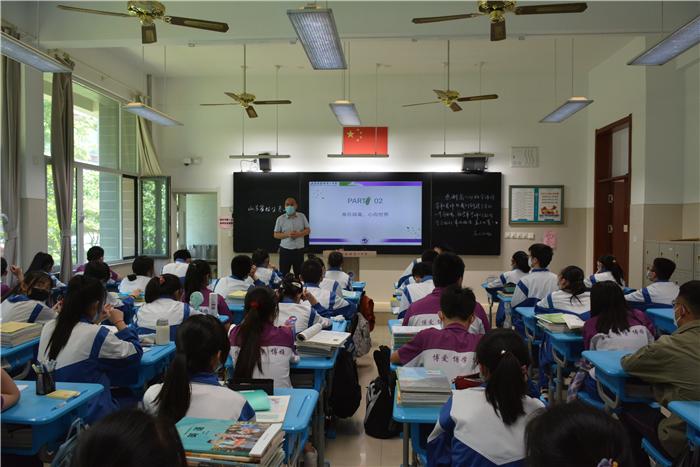 感动中国人物2020_我校高一高二年级顺利开学复课